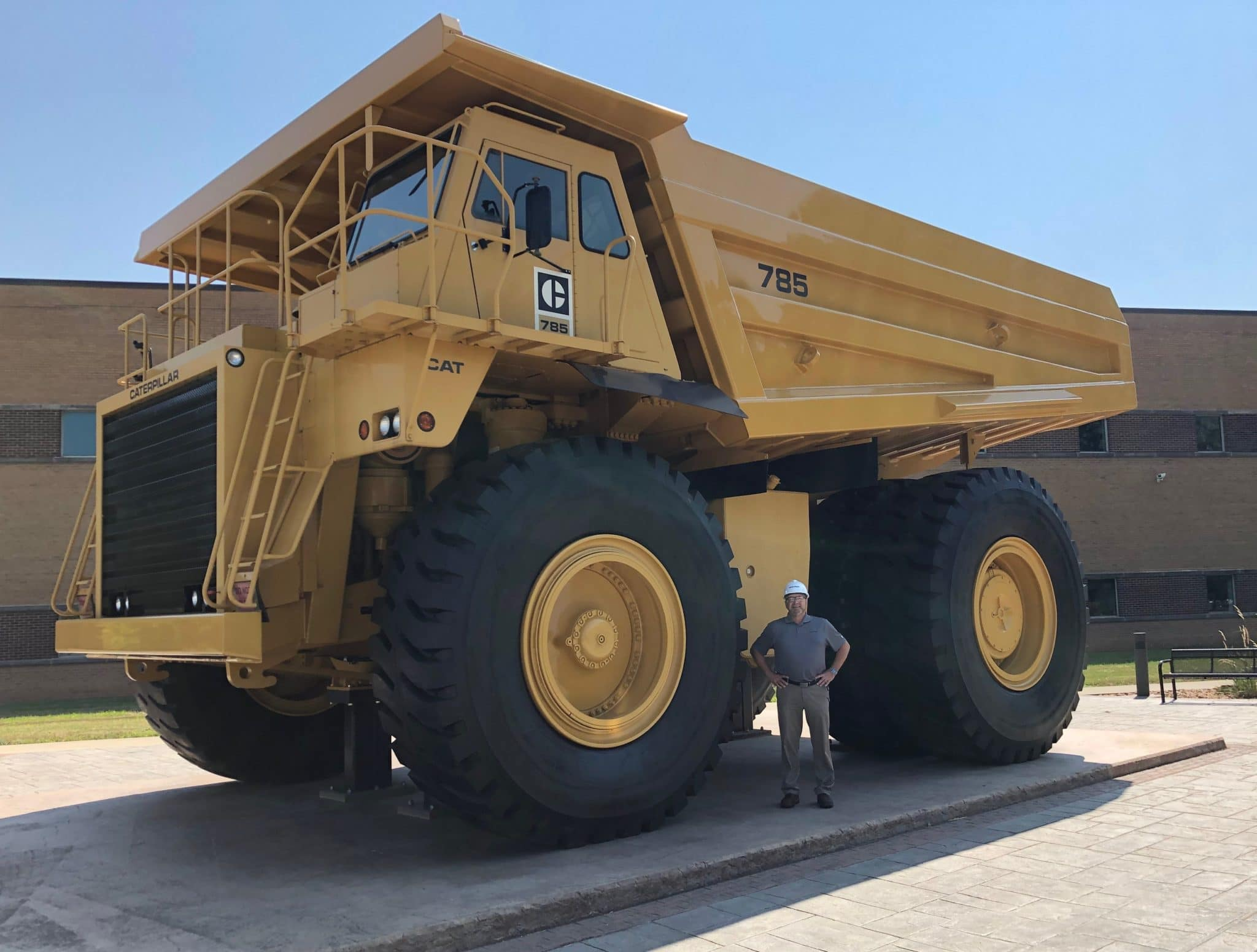 Amentum Caterpillar Truck